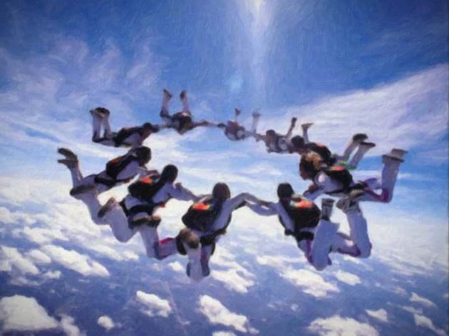 skydivers-impasto-vignette